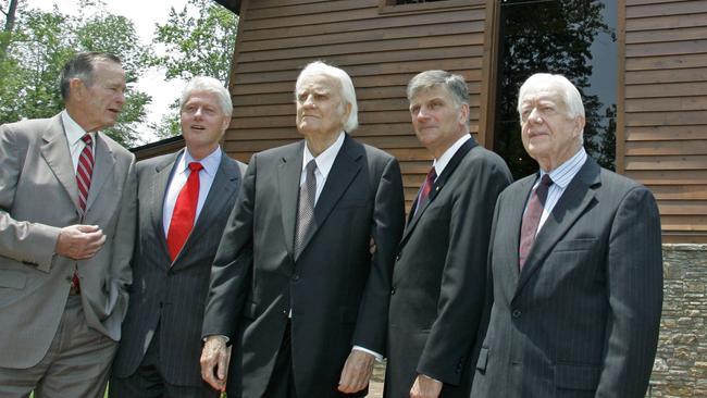 America's Pastor' Billy Graham dies aged 99
