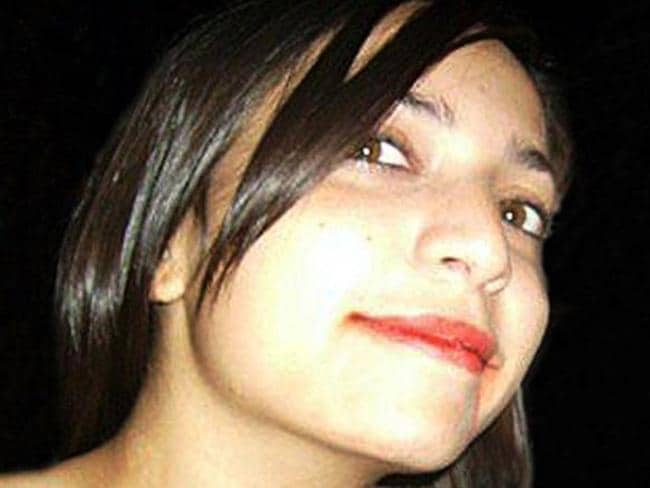 Meredith Kercher was found wrapped in a blood-soaked doona.