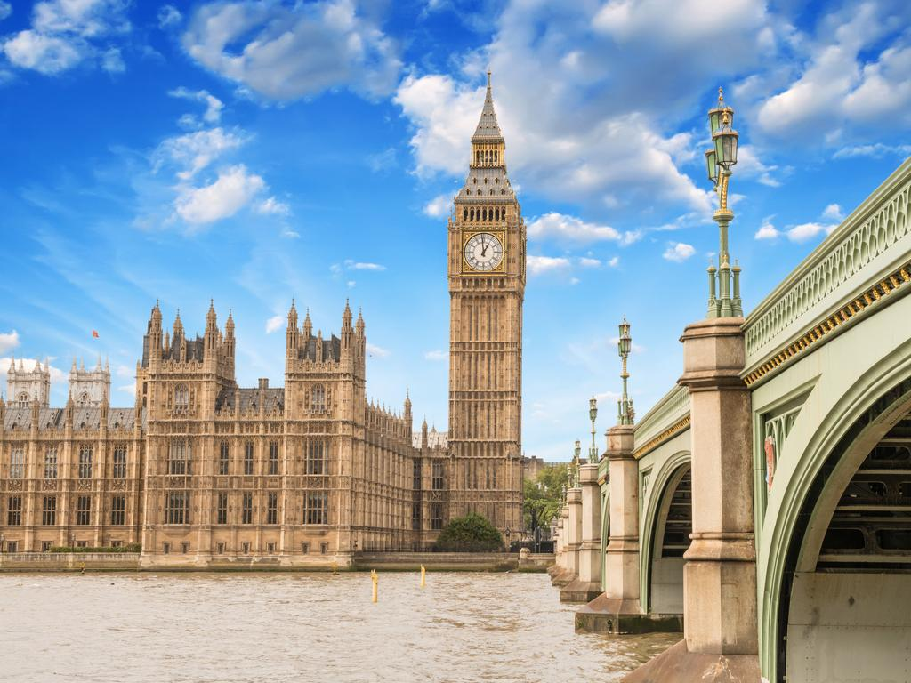 The world's most famous clock, London's Big Ben, also make the list.