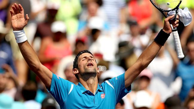 Novak Djokovic owns tennis right now.
