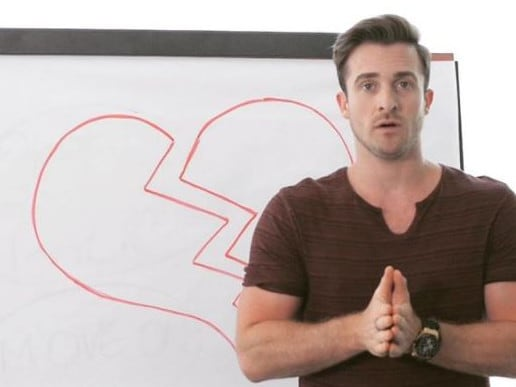 Dating expert Matthew Hussey's advice is to favour emotional conversation over logic-based discussions.