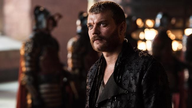 Pilou Asbæk as Euron Greyjoy in Game of Thrones. Picture: Foxtel