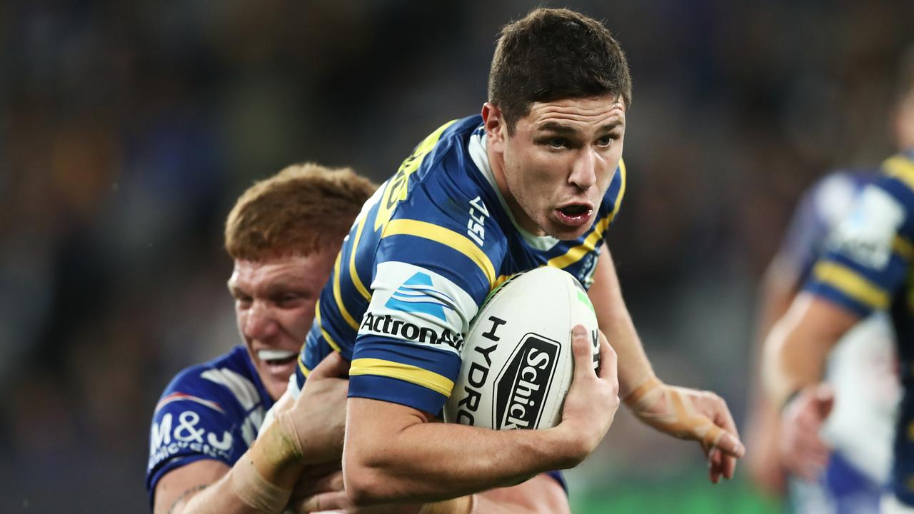 Mitchell Moses leads the NRL in try assists going into Round 25.