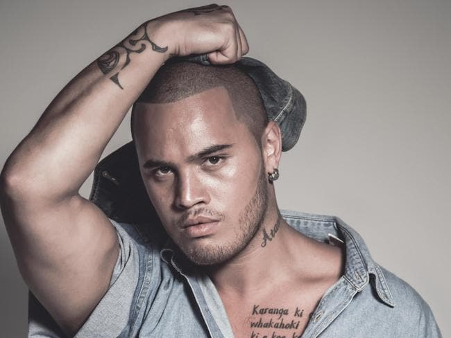 Coming of age ... Stan Walker's bashful youth has gone. Picture: Supplied / Sony Music