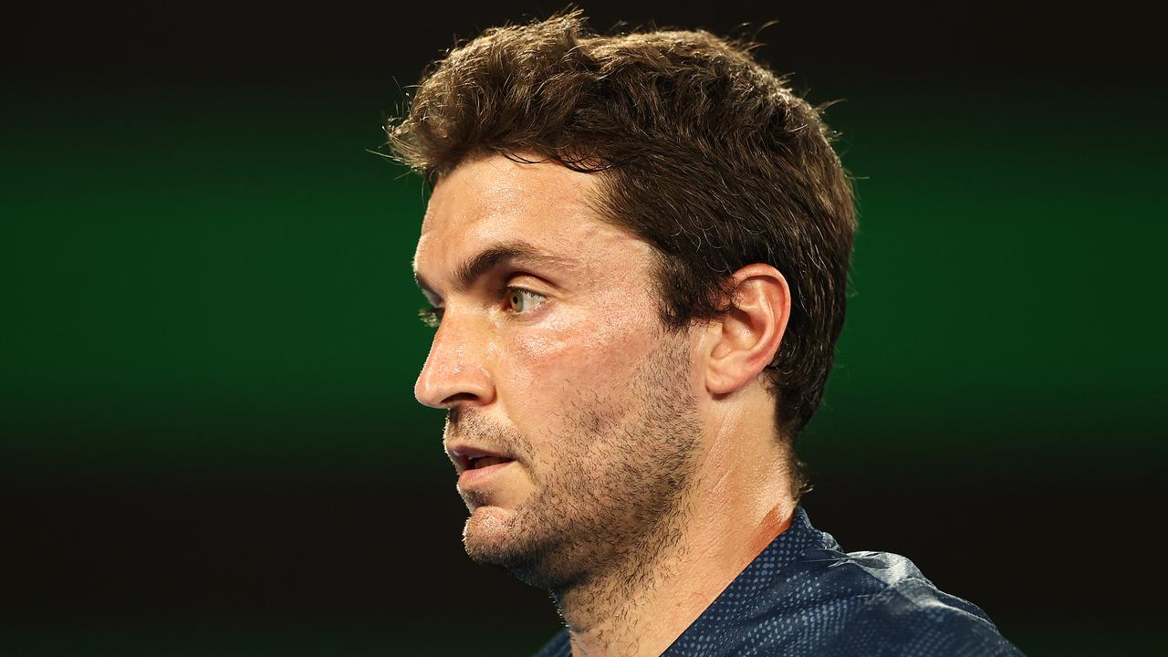 Tennis veteran Gilles Simon isn't happy with the state of umpiring. (Photo by Cameron Spencer/Getty Images)