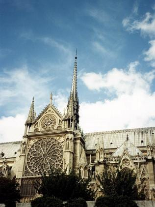 The historic cathedral is the most visited monument in Paris.