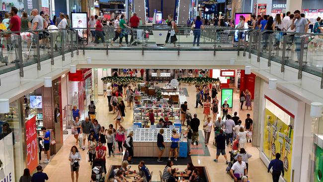 Westfield Marion's annual 36-hour marathon shopping ended last night with numbers peaking between 10 pm and 1am, but more crowds are expected over the three sleeps to Christmas.