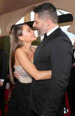 Joe Manganiello and Sofia Vergara attend the 23rd Annual Screen Actors Guild Awards at The Shrine Expo Hall on January 29, 2017 in Los Angeles, California. Picture: Getty