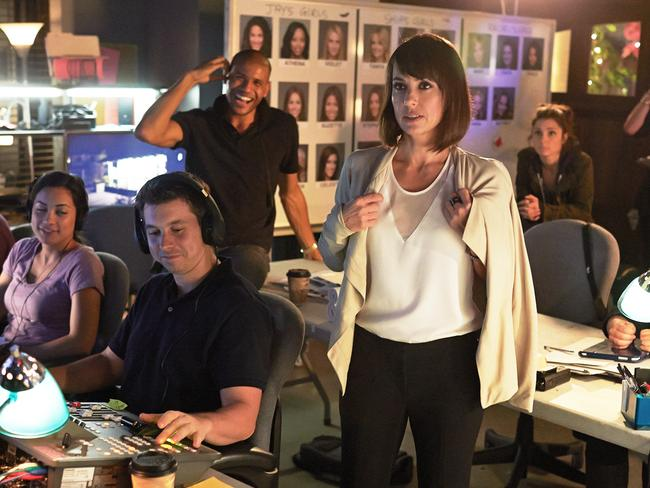 Constance Zimmer in  <i>UnREAL</i>.