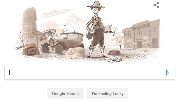 Dorothy Hill was been commemorated in the Google Doodle today. Picture: Google