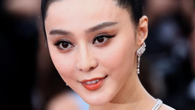 For three months, there was no trace of Chinese moviestar Fan Bingbing. Picture: John Phillips/Getty Images