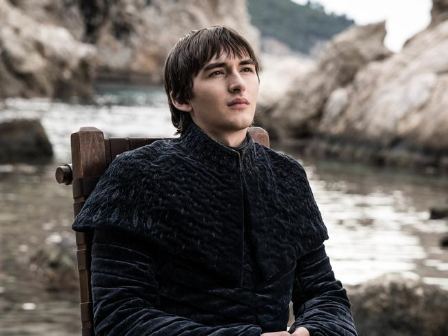 George R.R. Martin had always planned for Bran to be named king. Picture: HBO/ Supplied