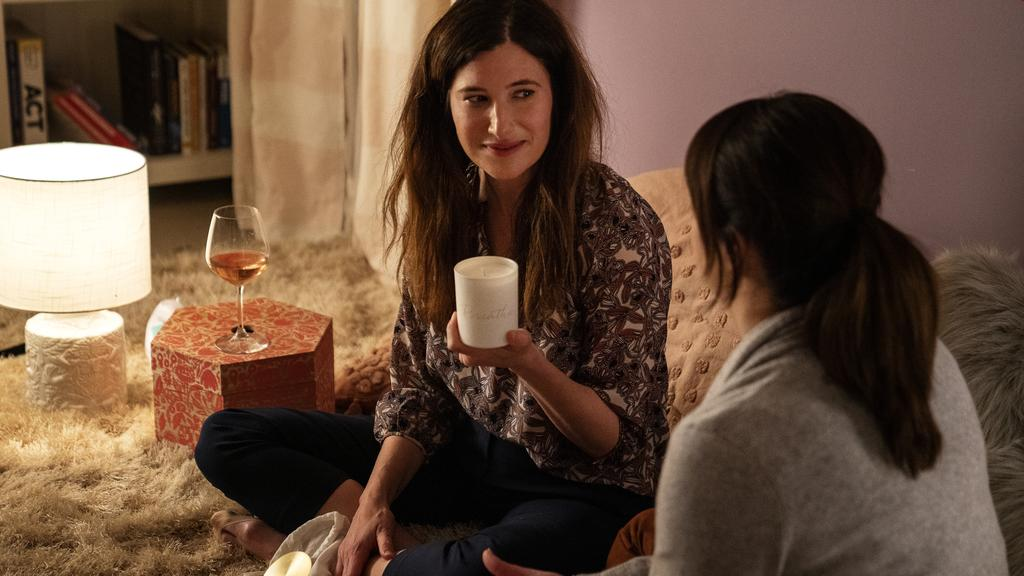 Kathryn Hahn's character watches a lot of porn in the new show, Mrs. Fletcher. Picture: Foxtel