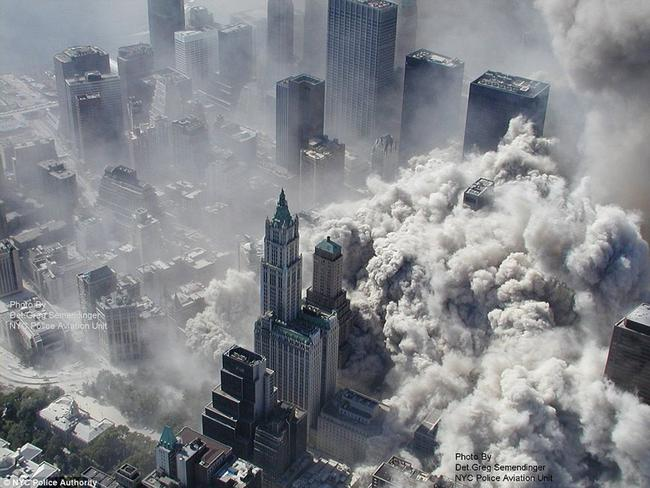 Deadly inspiration ... An attack on the West on the scale of the September 11, 2001, is the reported goal of a new terror organisation based in Syria, US officials claim. Source: Source: New York City Police