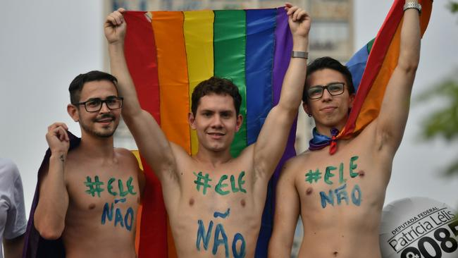 Jair Bolsonaro has publicly voiced his opposition to homosexuality in the past.