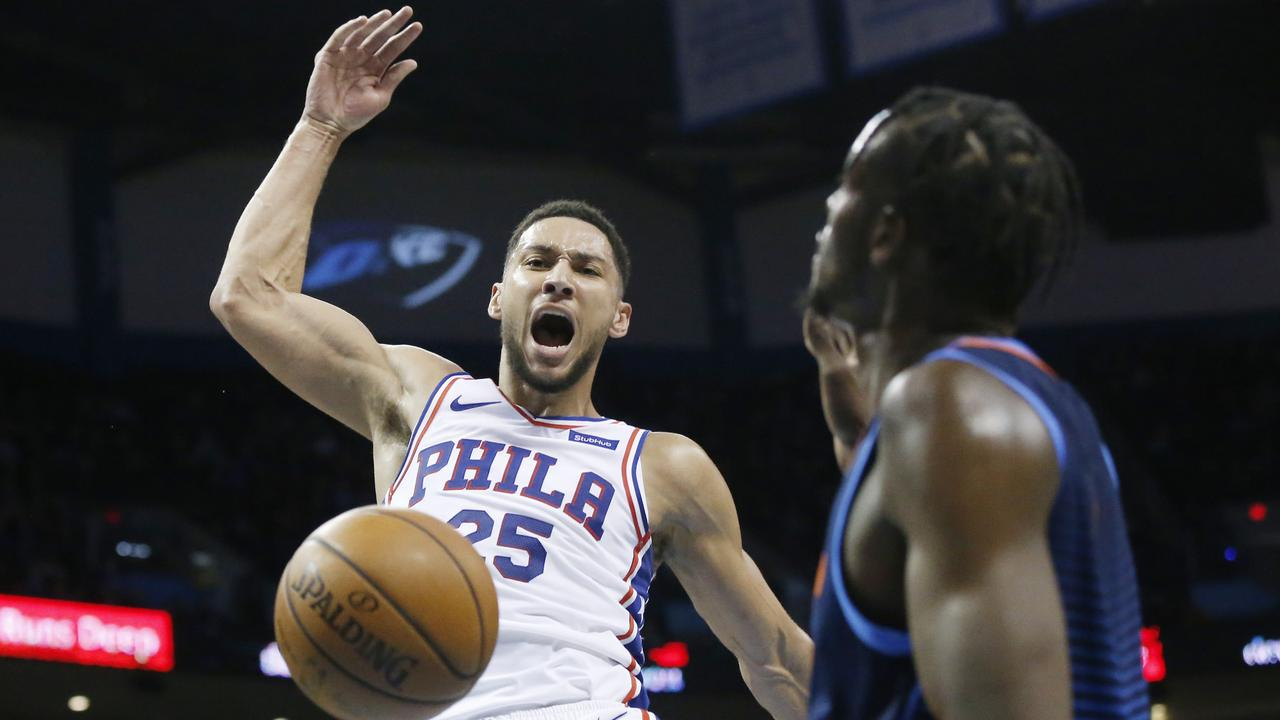 Ben Simmons dropped his ninth triple-double of the season.
