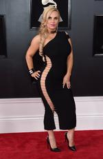 TV personality Coco Austin attends the 60th Annual GRAMMY Awards at Madison Square Garden on January 28, 2018 in New York City. Picture: Jamie McCarthy/Getty Images