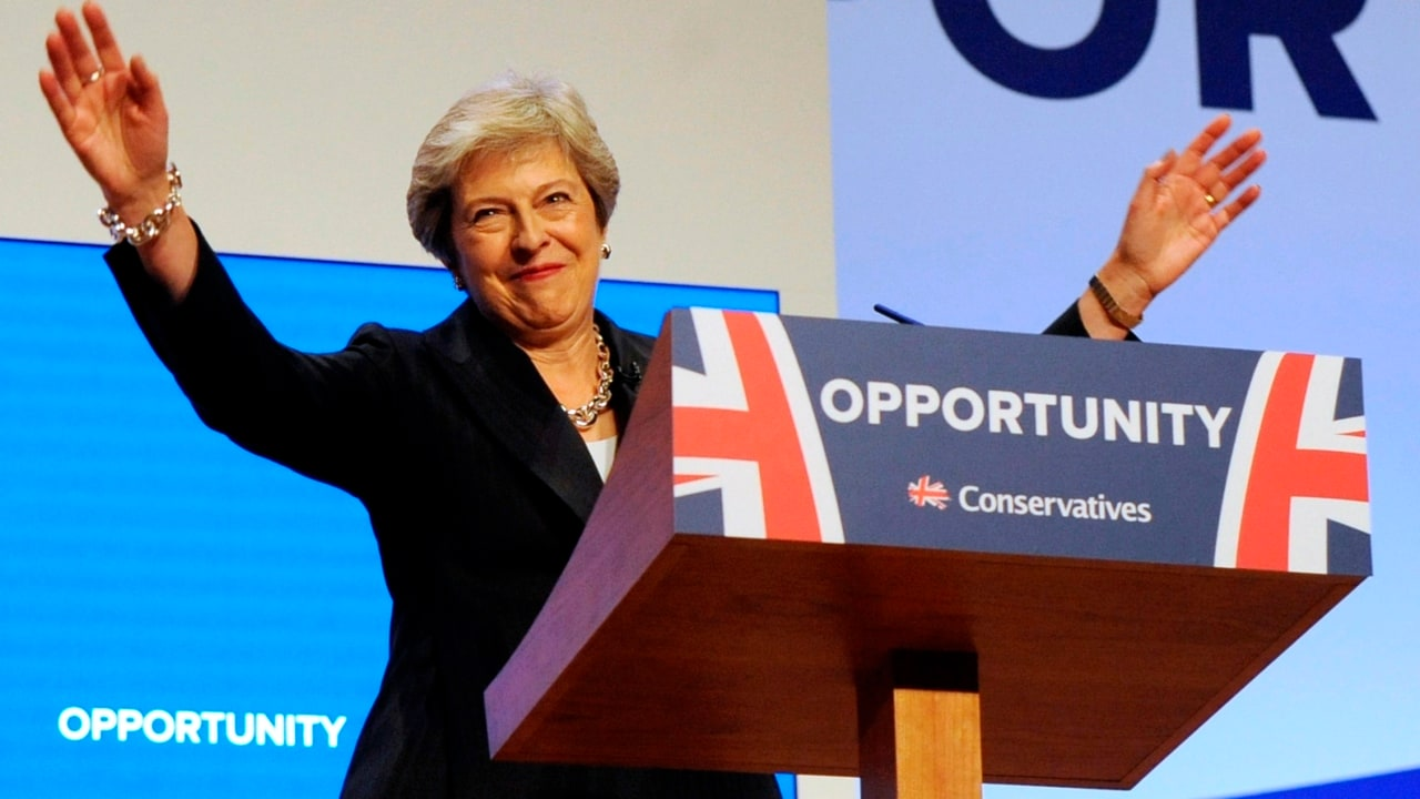 May is governing with 'one eye over her shoulder'