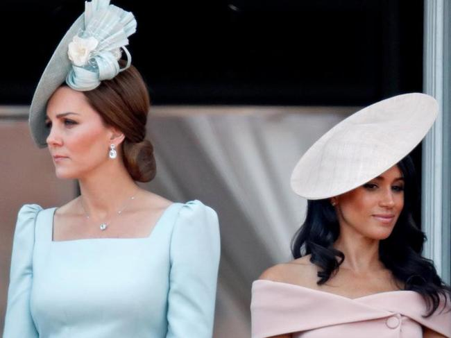 There have been rumours of a rift between Meghan and Kate for months. Picture: Getty Images