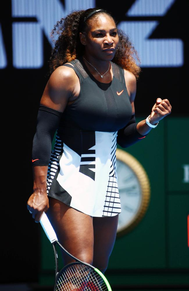 Serena Williams is a Nike ambassador. Picture: Aaron Francis/The Australian