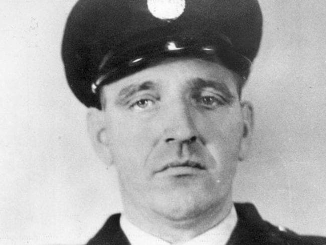 Pentridge Jail warder, George Hodson, 41, was shot and killed when he challenged prison escapees Ronald Ryan and Peter John Walker in 1965.