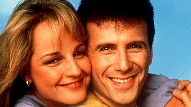 Helen Hunt and Paul Reiser. Source: News Limited