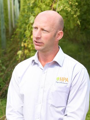HPA sales and marketing manager Owen Johnston.