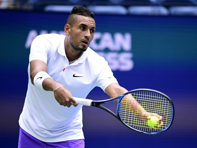 Laver said Kyrgios arguably has the best serve in the world.