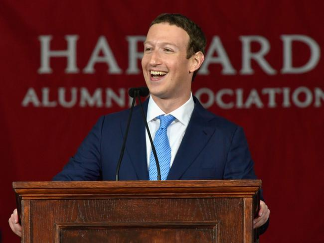 Facebook Founder and CEO Mark Zuckerberg has vowed to remove hate speech from the social media platform. Picture: Getty