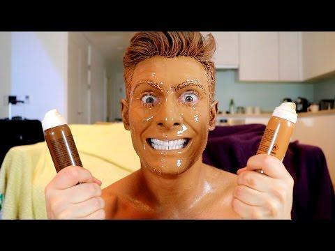 100 Layers of Fake Tan Challenge