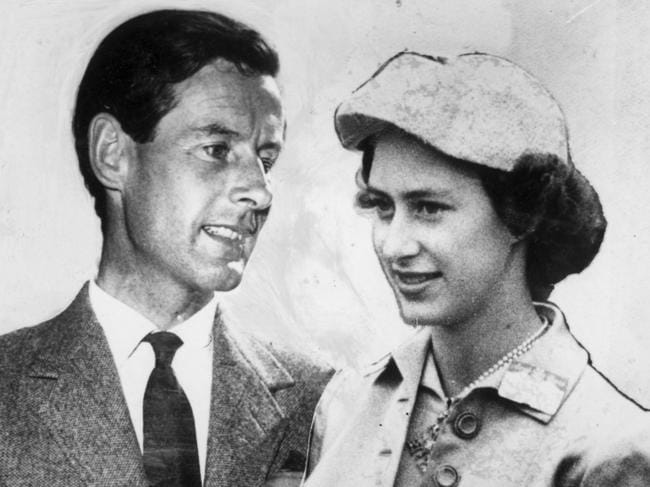 For months, the pair kept their romance hidden, knowing her family – and the British public – would disapprove. Picture: Supplied