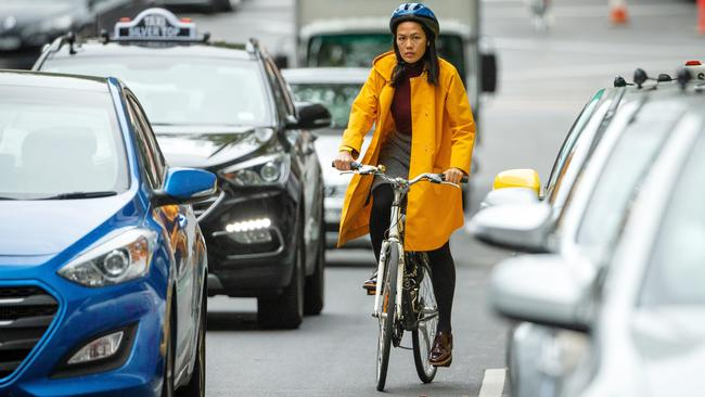 Analysis has shown ditching the car and riding a bike instead can save households up to $1500 a month. Picture: Mark Stewart