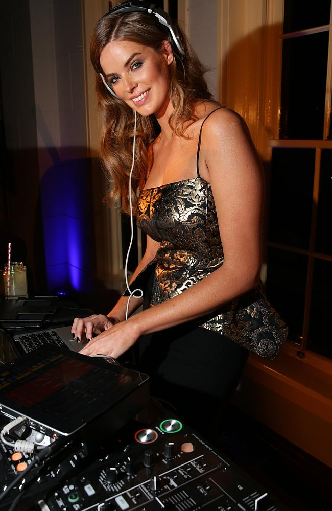 Robyn Lawley at the 2013 Vogue FashionÕs Night Out held in the CBD shopping precinct of Sydney.