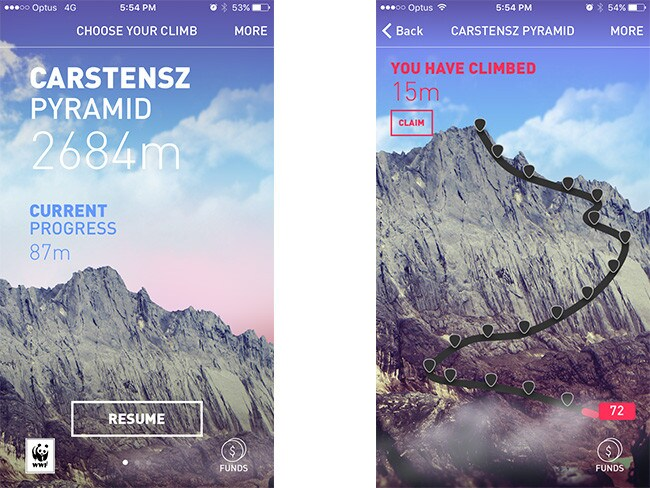 Come climb with me ... How the 25zero app includes you in the adventure.