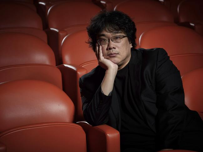 Acclaimed director Bong Joon-Ho scored a nomination for his hit film, Parasite. Picture: AP
