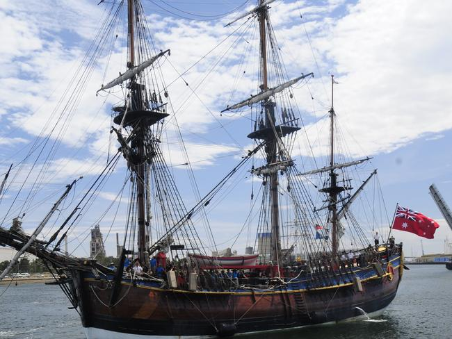 The ship has not been seen since 1778, when the British scuttled 13 ships in Newport Harbor during the American Revolution.