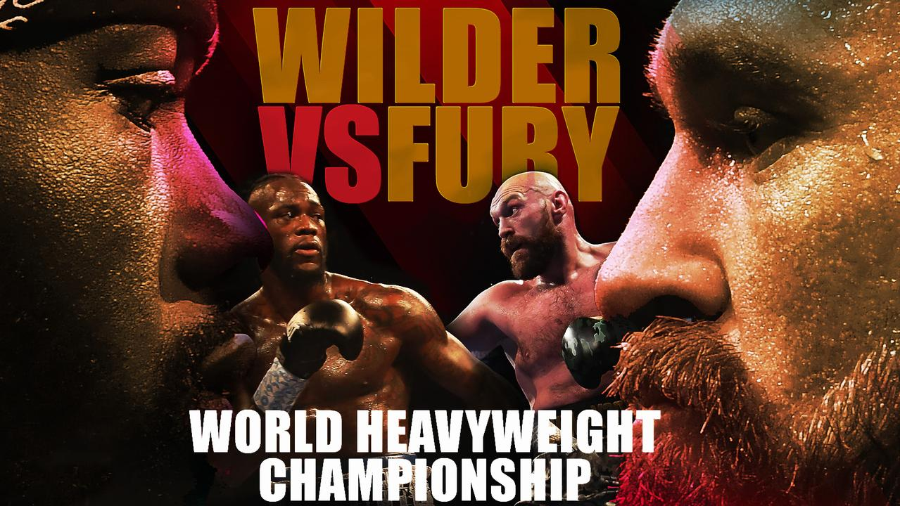 Deontay Wilder. Tyson Fury. The heavyweight title on the line.