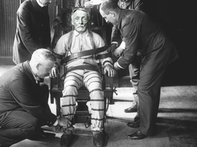 Albert Fish was executed by electric chair at 11.06pm on January 16, 1936. Picture: New York State Corrections.