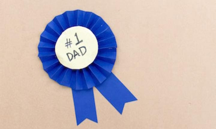 Make a Father's Day rosette