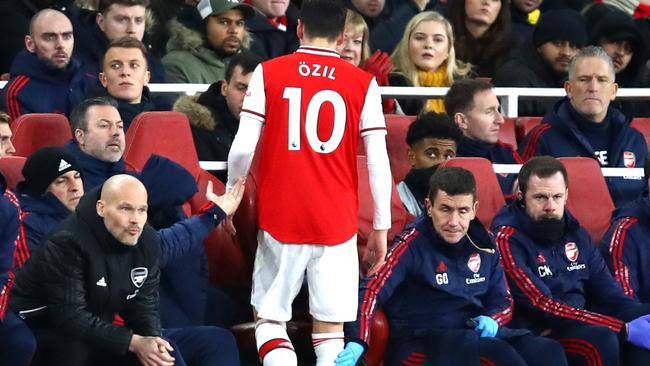 Arsenal lost heavily to City, so in one sense at least, its Chinese fans were spared some pain. Picture: Julian Finney/Getty Images