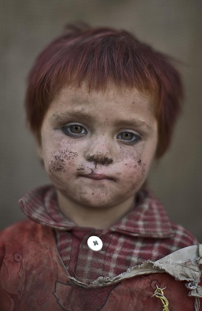 The children who live in slums