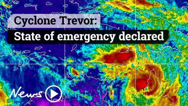 Cyclone Trevor: State of emergency declared, locals evacuated