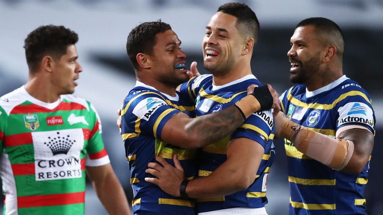 Jarryd Hayne has not yet decided his future. (Photo by Matt King/Getty Images)
