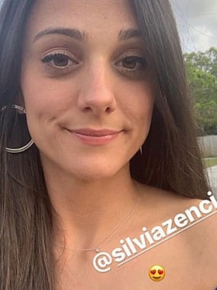 Connor Cruise us engaged to Silvia Zanchi. Picture: Instagram