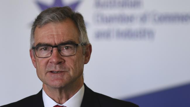 Australian Chamber of Commerce and Industry chief executive James Pearson. Picture: AAP