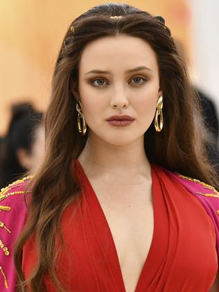 Aussie Katherine Langford attends the 2018 Met Gala. Picture: AP