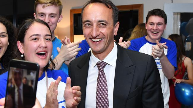 Dave Sharma set for victory.