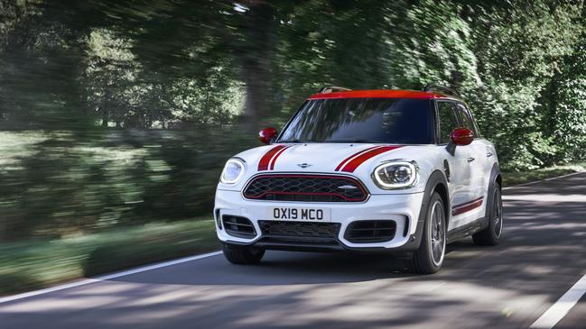 Mini Countryman John Cooper Works has received a huge power boost.