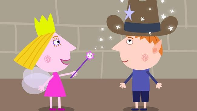 Small screen stars Ben and Holly from Ben & Holly's Little Kingdom. Picture: Supplied.