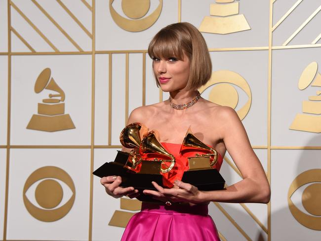 Swift swept the Grammys last year but won't attend this year because she's in 'off-cycle.'